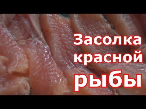 Засолка красной рыбы. Рецепт проверенный годами тающей во рту малосольной рыбы