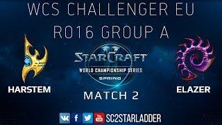 2019 WCS Spring Challenger EU - Ro16 Group A Match 2: Harstem (P) vs Elazer (Z)