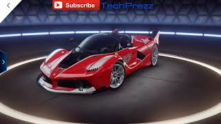 Asphalt 9 Unlocking FERRARI FXX K and Test Drive