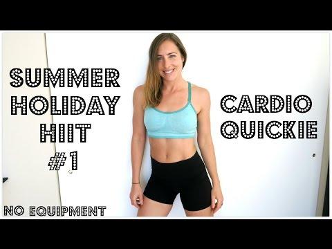 Summer Holiday HIIT | INSANE Cardio Quickie