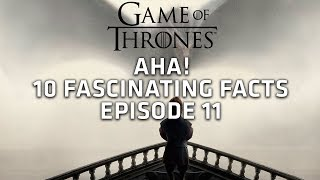 Aha! 10 Fascinating Facts - Episode 11 - Game of Thrones!