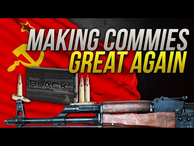 Making Commies Great Again: 7.62x39mm Hornady Black 123gr SST Gel Test