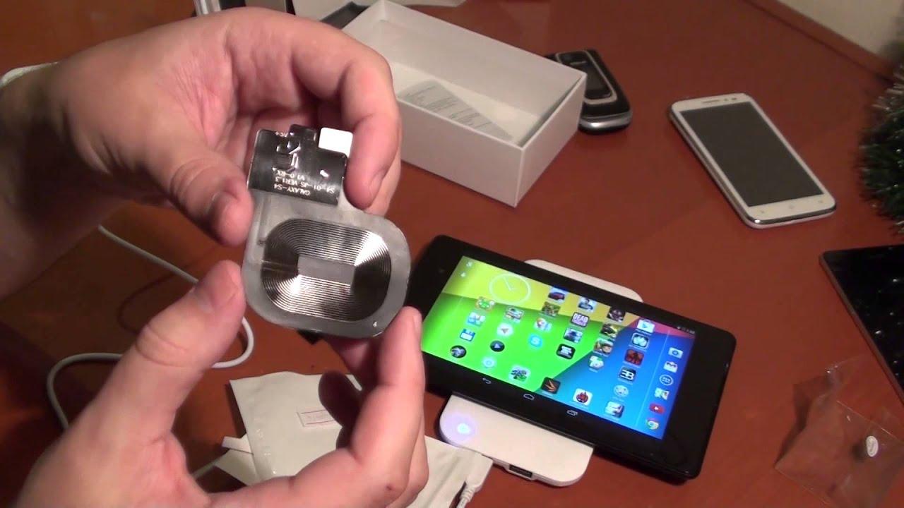 Беспроводная зарядка для iPhone 6 – тестируем в тойоте - YouTube