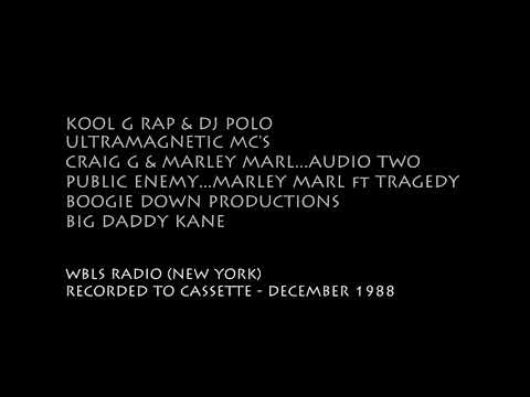 hip hop RADIO (02) - WBLS (NYC) 12/1988