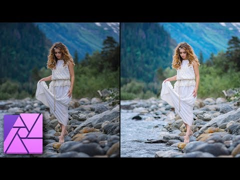 The Most Natural Way to Brighten an Image - Affinity Photo Tutorial thumbnail