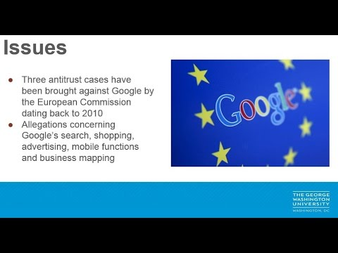 International Management - Google v EU AntiTrust Case