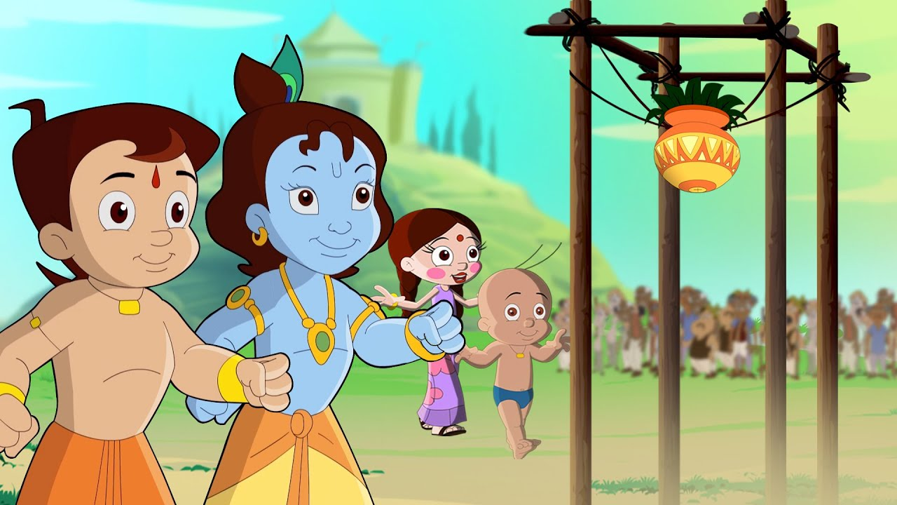 Chhota Bheem And Krishna - Govinda Aala Re | Janmashtami Special | Cartoon for kids in Hindi