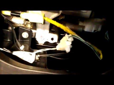 Подсветка бардачка Toyota Corolla 160 на герконе