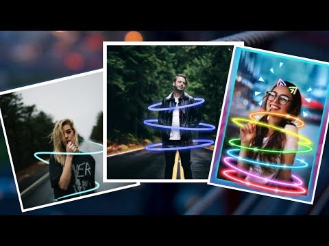 How to Edit Your Photos on PicsArt / Neon Effect Trick /Ashu Shakya