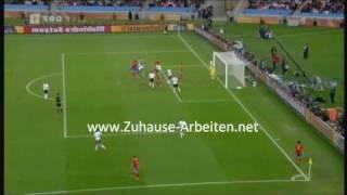 Deutschland gegen Spanien - Das Tor & Highlights - FIFA World Cup 2010