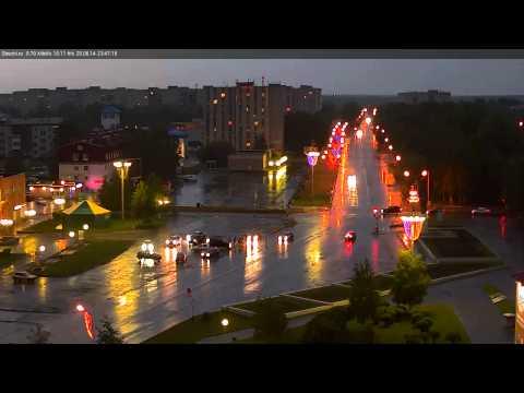 ДТП наезд на девушку г.Стрежевой 25 июня 2014