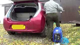 Generator and Nissan Leaf