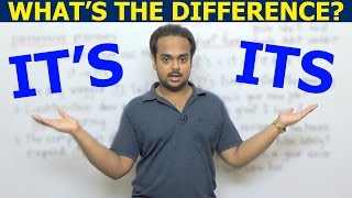 IT'S vs. ITS - What's the Difference? - When to Use It's and Its, with Example Sentences