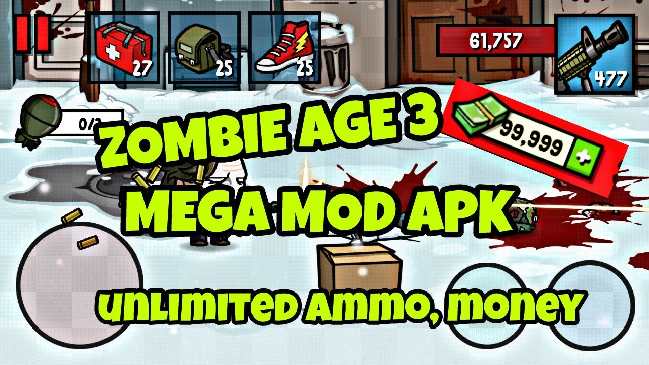 Zombie Age 3 v1 2 4 (MEGA MOD, Unlimited Money/Ammo) DOWNLOAD LINK!!
