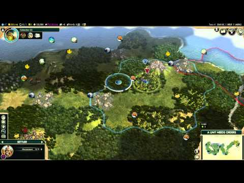 Civilization V: Korea - Deity 1