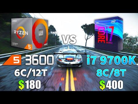 Ryzen 5 3600 Vs I7 9700K Test In 9 Games