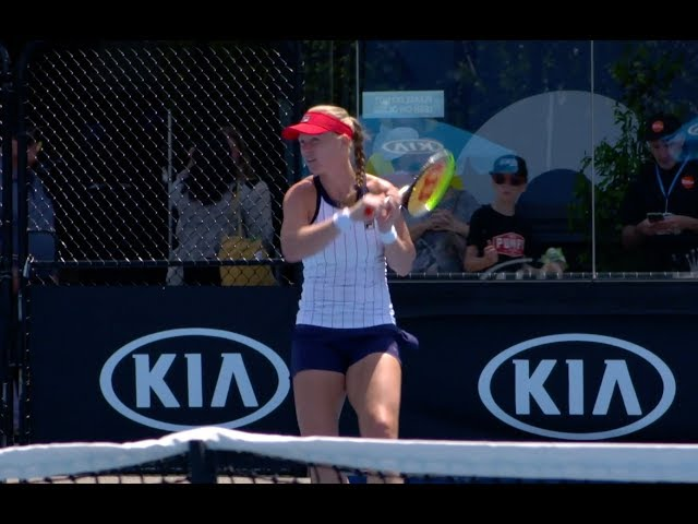 Kiki Bertens Practice | 2020 Australian Open