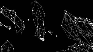 Stars Map | Audio reactive visuals | Made with Jitter  in Max Msp