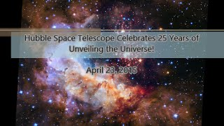 Hubble Space Telescope's silver anniversary of 25 years in space! Westerlund 2 | April 23, 2015