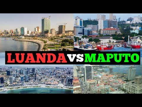 Luanda Angola vs Maputo Mozambique; Which City is Most Beautiful? Visit Africa
