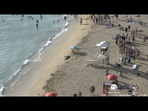 Rocky and Kaimana Haul Out At Kaimana Beach Lifeguard Tower