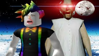 Two Best Friends find The Secret Granny Room in A Roblox Obby