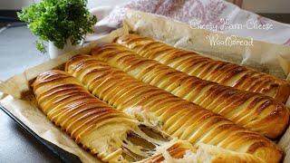 울브레드/ 햄치즈롤/ Cheesy Wool bread/…