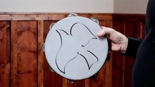 MEINL Percussion Gospel Praise & Worship Tambourine - CHT2D