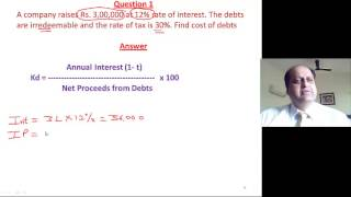 cost of capital online satellite video lectures for cs ftfm cma inter ca ipcc fm video classes