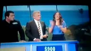 WOW! she won on Wheel of Fortune