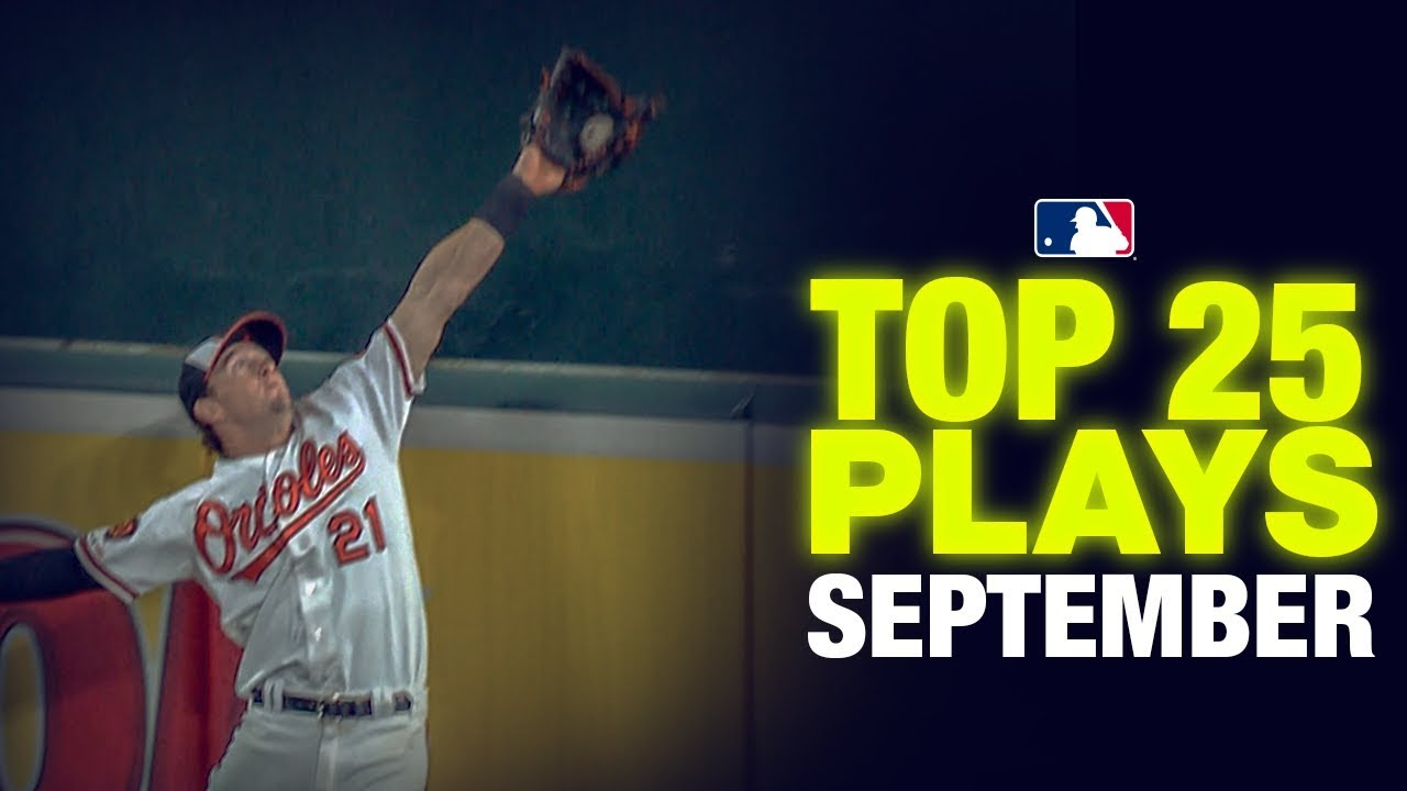 Download Top 25 MLB Plays of  the Month (September) | MLB Highlights