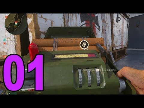 COD WWII Ranked Play - Part 1 - SEARCH AND DESTROY!