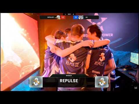 LAN абсолютки последний раунд AG Vs Repulse + эмоции