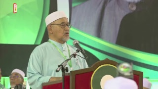 Sekitar sesi penggulungan pada hari terakhir Muktamar Tahunan Parti Islam Semalaysia (PAS)