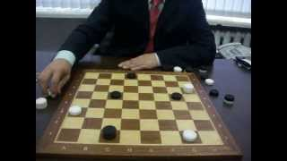 Видео-марафон. Вопрос 12. Расскажите для новичков правила игры в русские шашки?