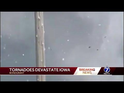 Tornadoes devastate Iowa
