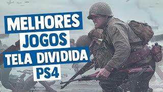 Melhores Jogos com TELA DIVIDIDA do PS4 (ou tela compartilhada)
