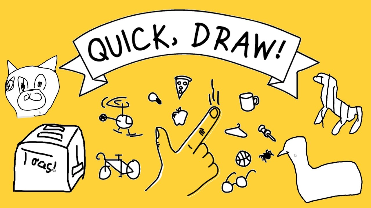 Pictionary With Ai Quick Draw With Google Youtube