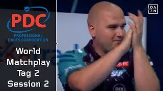 Weltmeister Rob Cross steigt ins Turnier ein | World Matchplay 2018 | Tag 2 | Session 2 | PDC