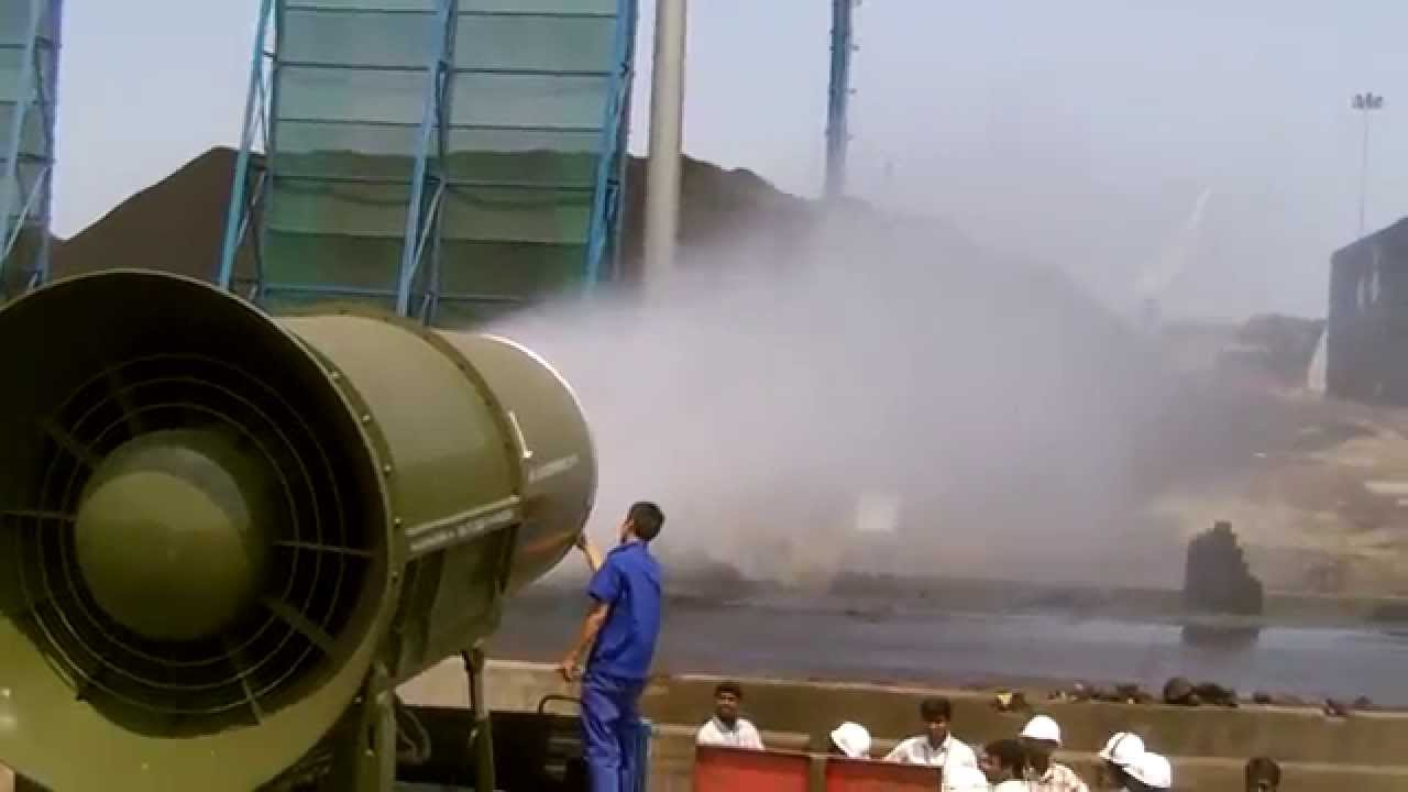Ds 150 Dust Suppression System For Fly Ash Dust At Coal