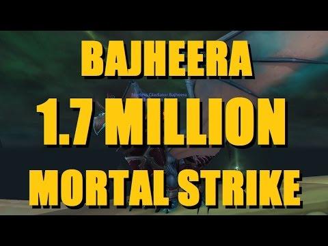 Bajheera - INSANE 1.7 MILLION MORTAL STRIKE 2v2 FINISHER - WoW Legion 7.2 Warrior PvP