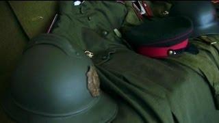 Частная коллекция военной формы разных лет в Беларуси, видео
