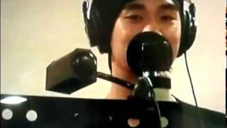 [Dream High OST] Dreaming Japanese version | Kim Soo Hyun in studio