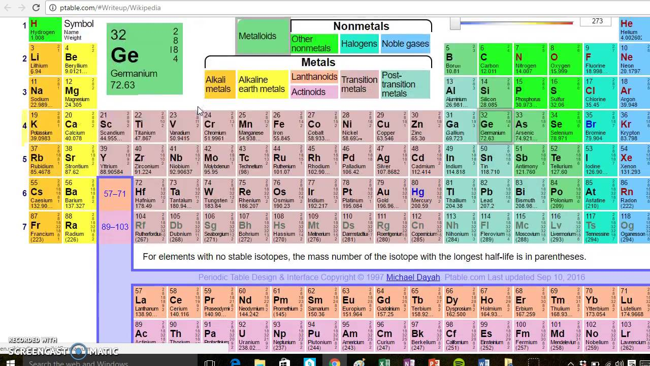 Interactive periodic table part 1 youtube interactive periodic table part 1 urtaz Gallery