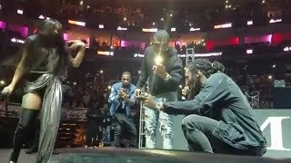 Offset Proposes to Cardi B live on stage at a concert. She Said 'YES'.