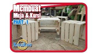 Download Video Membuat kursi & meja kayu palet - PART 1 MP3 3GP MP4