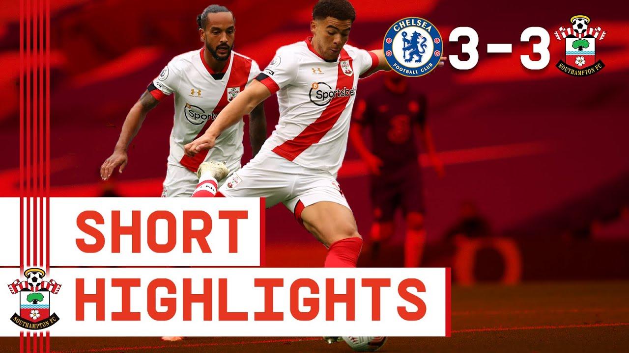 90-SECOND HIGHLIGHTS: Chelsea 3-3 Southampton | Premier League