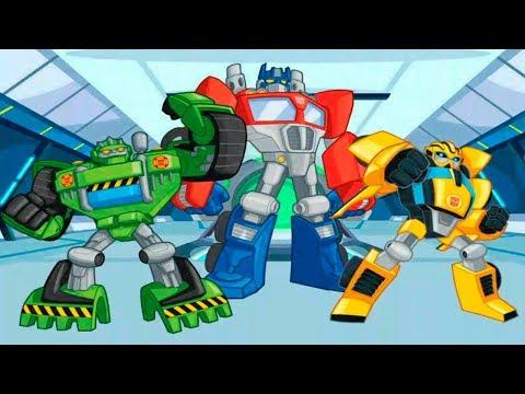 Transformers Rescue Bots para Niños  - El Robot del Doctor Morocco