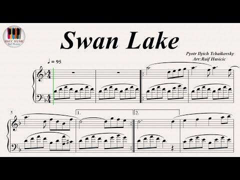 Swan Lake - Pyotr Ilyich Tchaikovsky, Piano