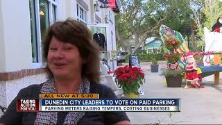 Officials vote Tuesday to keep or get rid of paid parking in Dunedin